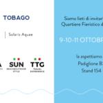 Tobago in fiera al TTG di Rimini il 9-10-11 ottobre